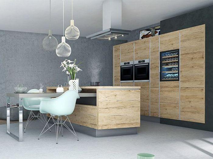 une cuisine design pour un int rieur contemporain elle. Black Bedroom Furniture Sets. Home Design Ideas