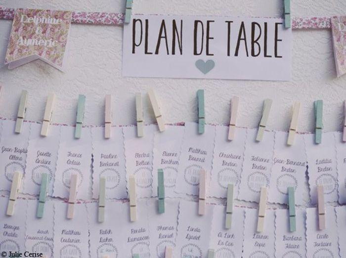 Super Mariage : je veux un plan de table original ! - Elle Décoration GN44