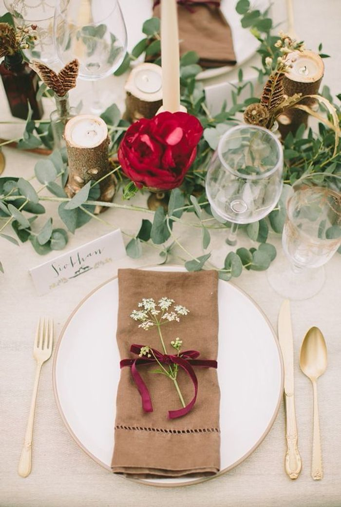 Souvent Décoration de table de mariage à faire soi même - Les décorations  YP02