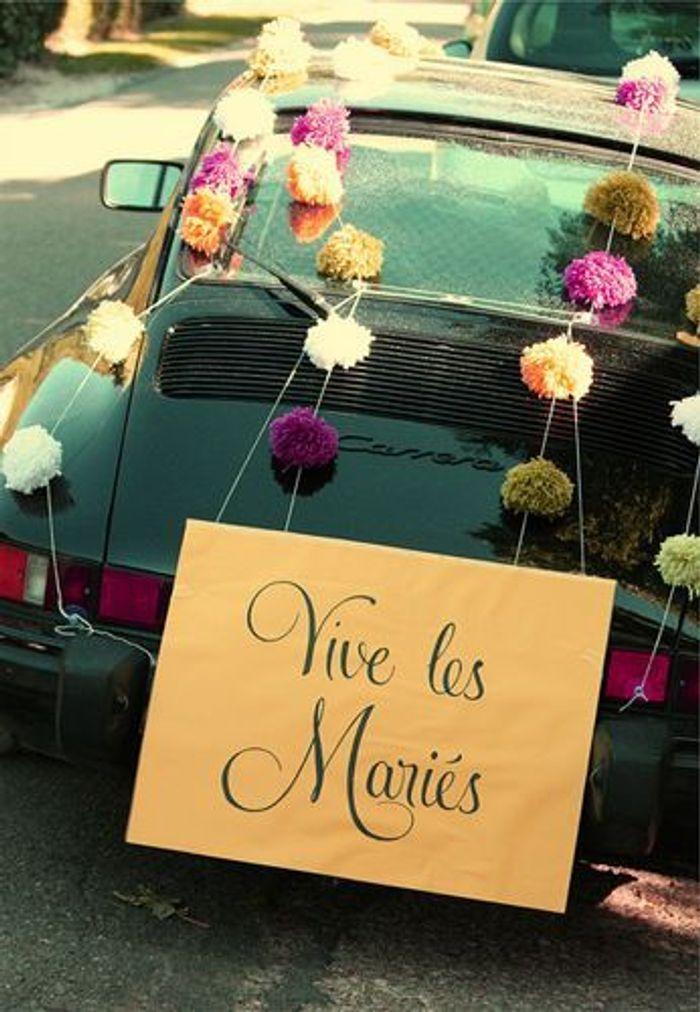 Populaire Décoration voiture mariage luxe - 10 jolies façons de décorer sa  OM96