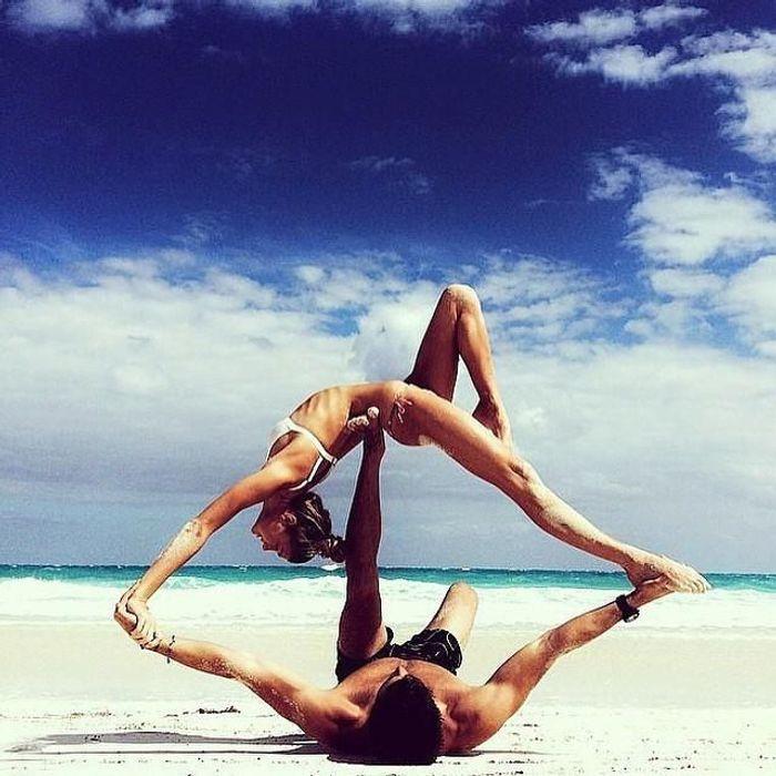 Préférence Yoga à deux : les plus belles photos de yoga en couple - Elle CG34