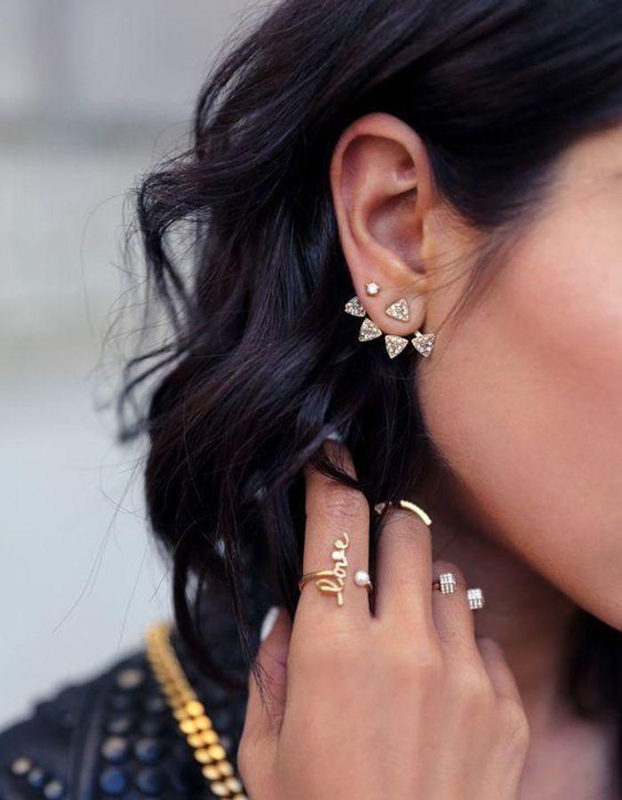 Exceptionnel Piercing oreille : les plus beaux piercings d'oreille - Elle BA32