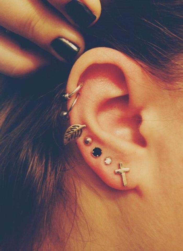 Bien connu Piercing oreille femme - Pourquoi le piercing d'oreille est-il  JW94