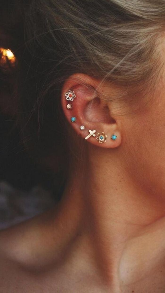 Souvent Piercing oreille tendance - Pourquoi le piercing d'oreille est-il  QR56