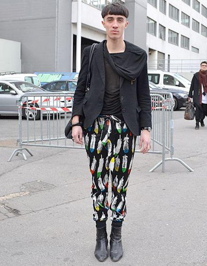 Extrêmement Mode street style homme look tendances defiles haute couture paris  NF99