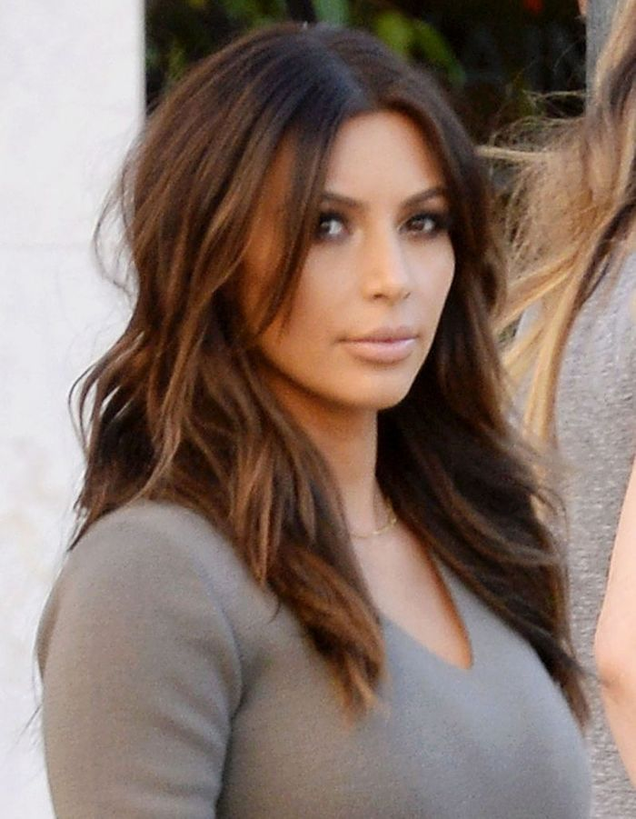 Kardashian Without Hair Extensions