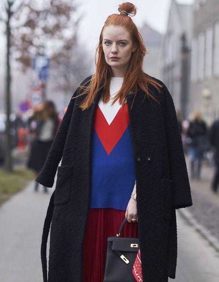 Coiffure 2018 cheveux roux