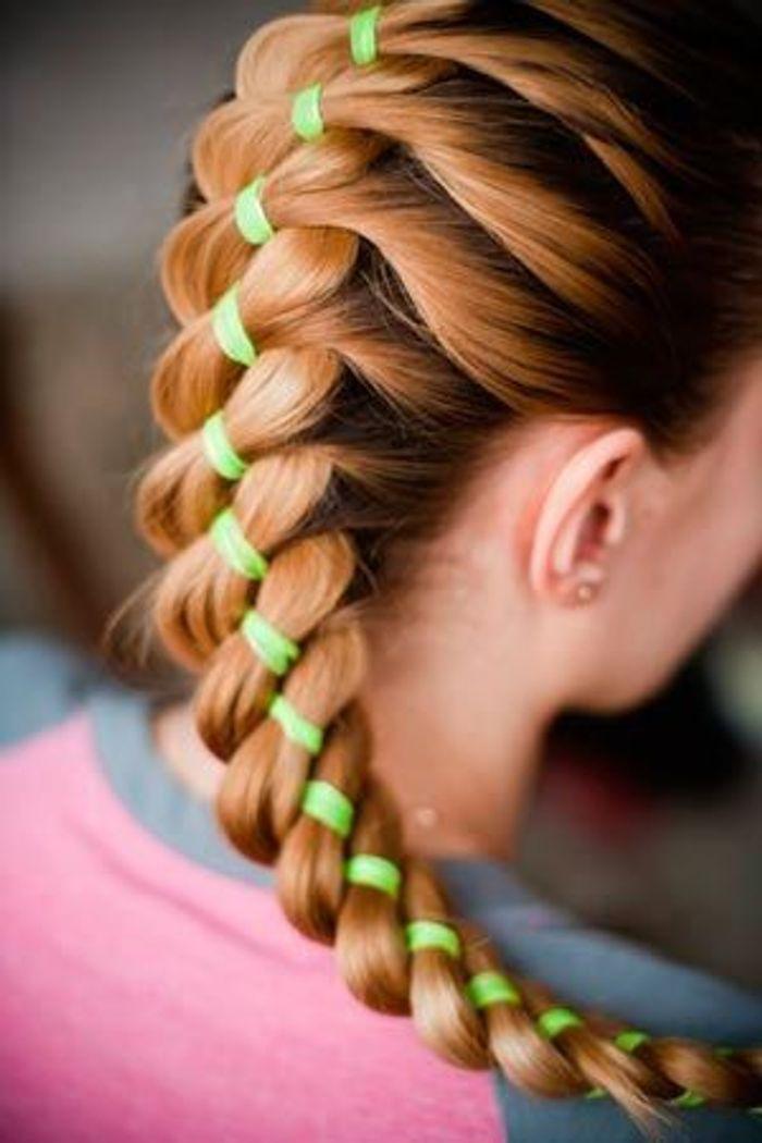 Coiffure de sport pour cheveux longs 26 id es de coiffures pratiques pour le sport elle - Coiffure pour faire du sport ...