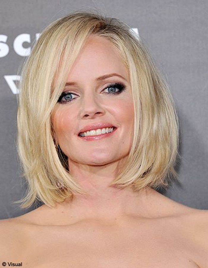 Beaute tendance cheveux coiffure coupe carre people Marley Shelton ...
