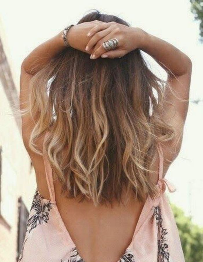Ombré hair discret