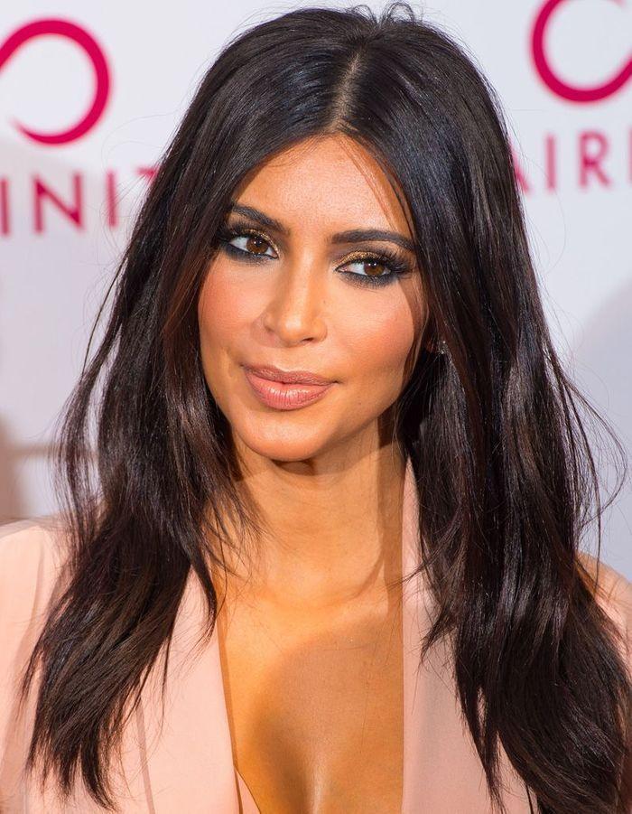 Coupe de cheveux d grad e brun coupe d grad e les coiffures de stars les plus r ussies elle - Coupe femme degradee ...