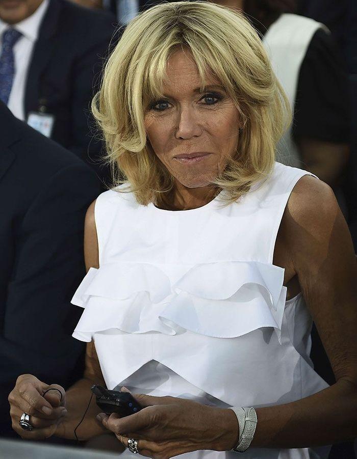 Le volume de Brigitte Macron