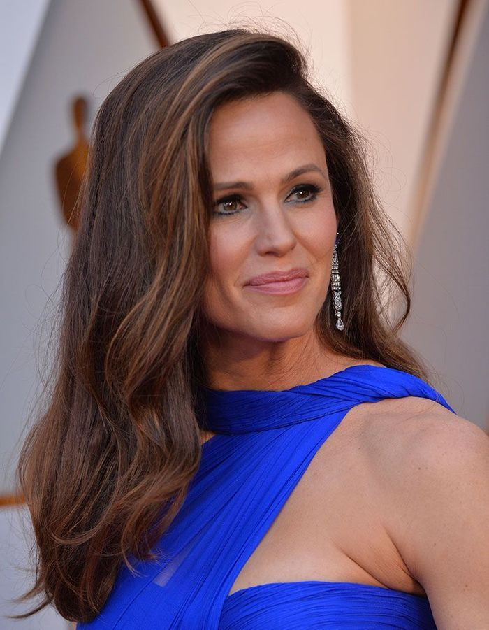 Le side hair de Jennifer Garner