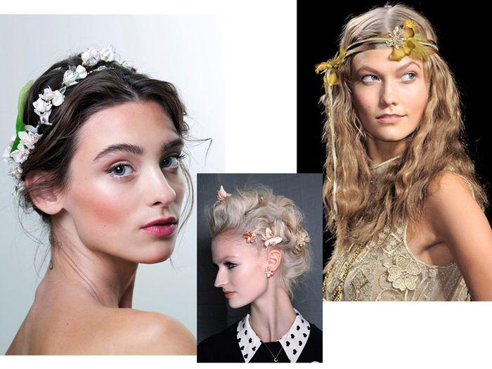 les fleurs dans les cheveux les 10 coiffures tendance. Black Bedroom Furniture Sets. Home Design Ideas