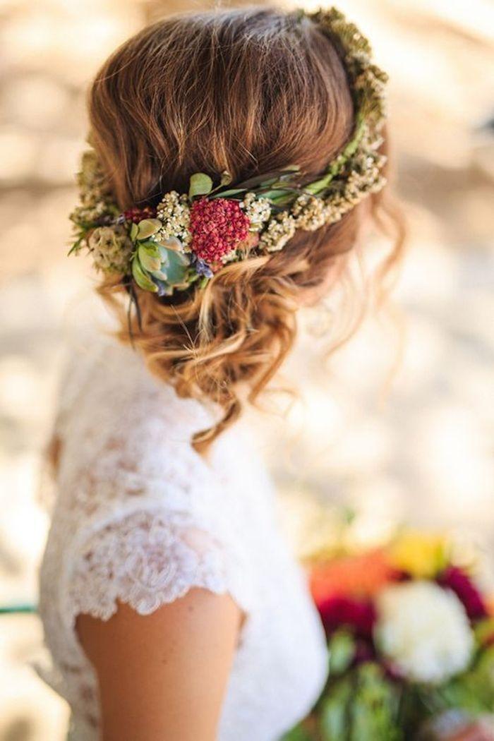 Coiffure de mariée 2016
