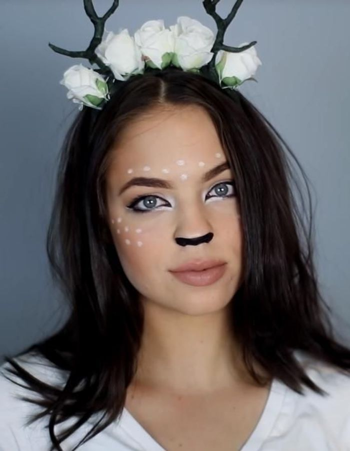 Maquillage halloween 18 id es de maquillage pour halloween elle - Image maquillage halloween ...