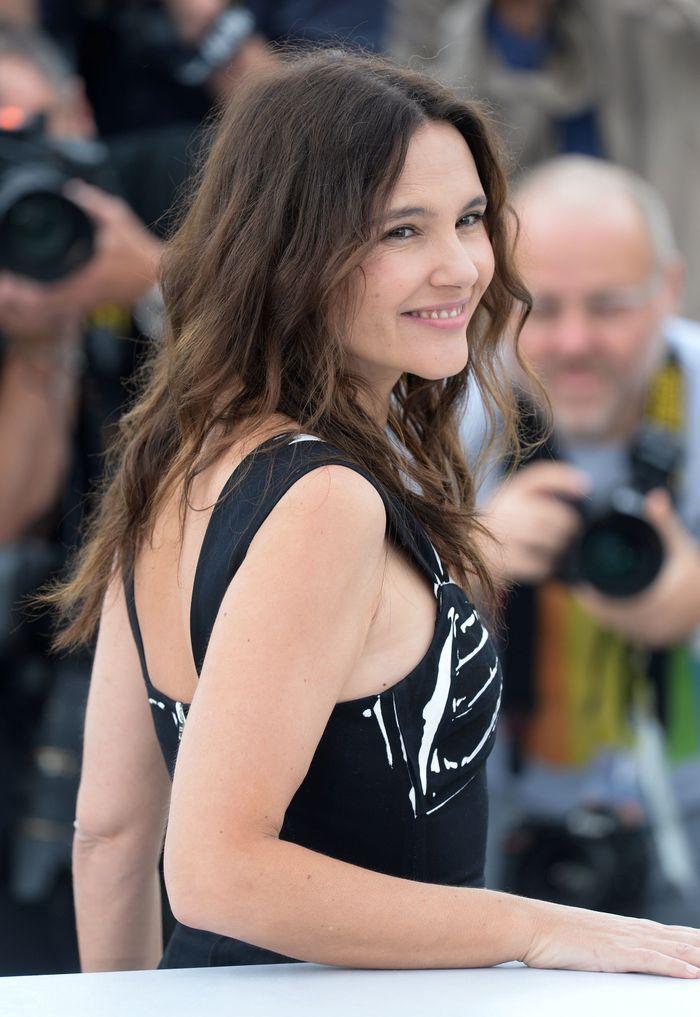 """Virginie Ledoyen lors du photocall de la présentation du jury """"Un Certain Regard"""""""
