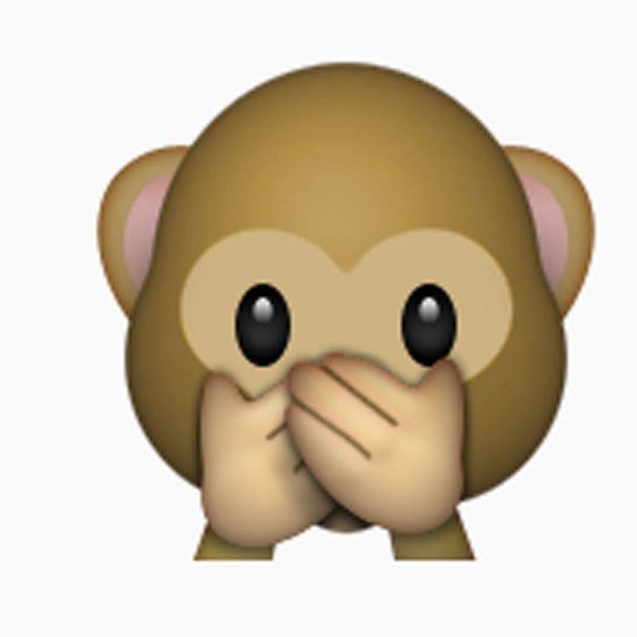 le singe qui se cache la bouche beaut la vraie signification des mojis elle. Black Bedroom Furniture Sets. Home Design Ideas