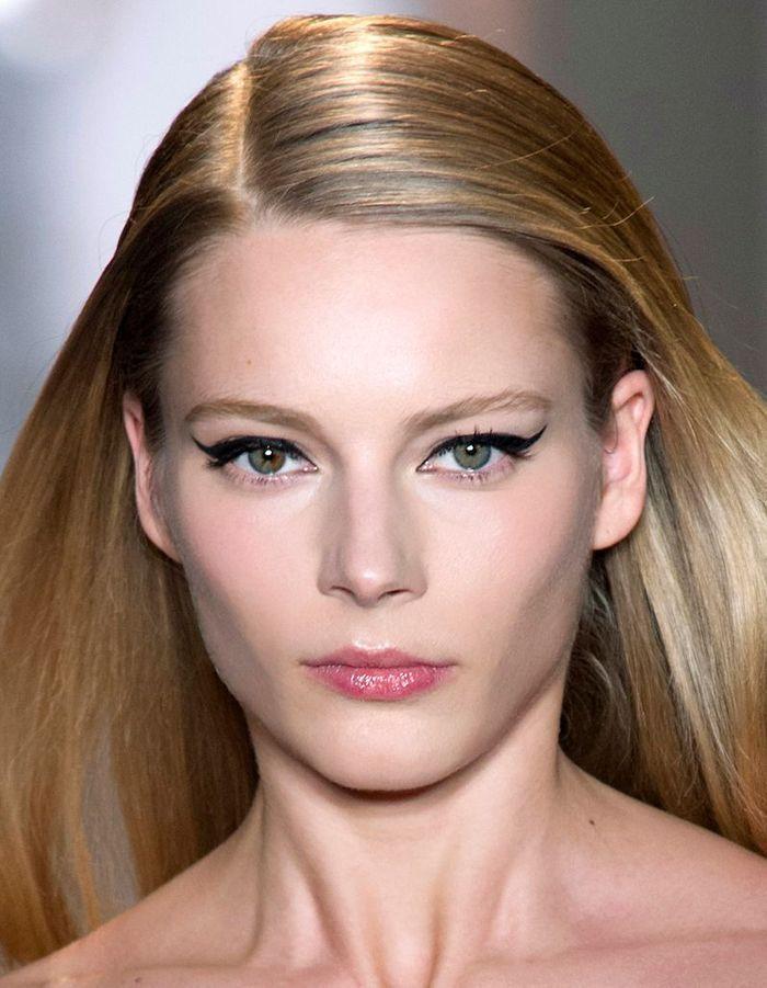 maquillage r veillon blonde 40 id es de maquillage de. Black Bedroom Furniture Sets. Home Design Ideas
