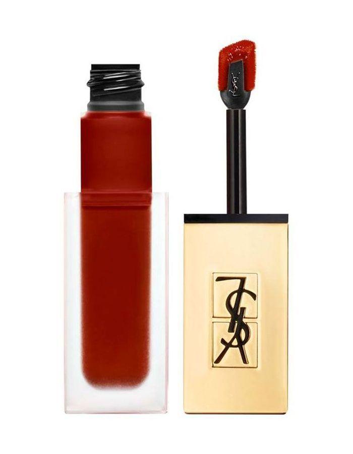 Tatouage couture encre à lèvres, Yves Saint Laurent