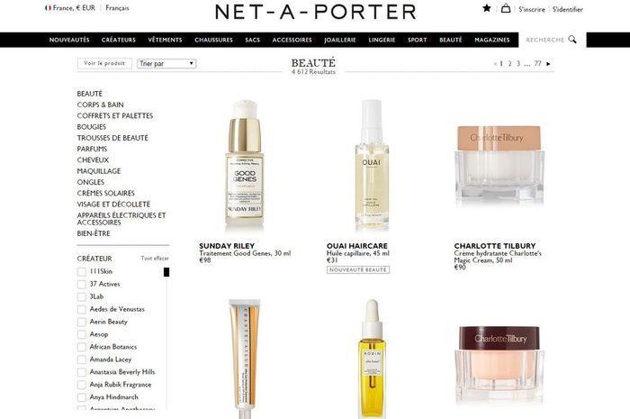 site de maquillage de luxe net 224 porter beaut 233 les 10 de maquillage pr 233 f 233 r 233 s des