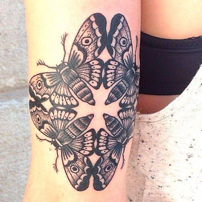 tatouage papillon original tatouage papillon 20 jolies id es rep r es sur pinterest elle. Black Bedroom Furniture Sets. Home Design Ideas