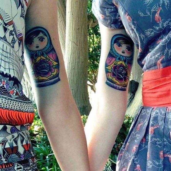 Tatouage entre soeurs 15 id es de tatouages faire - Tatouage de soeur ...