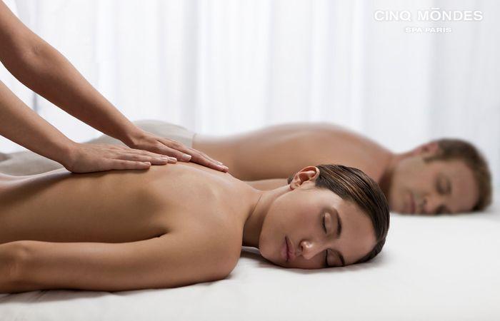 Le massage couple des Spas Cinq Mondes : le plus complet