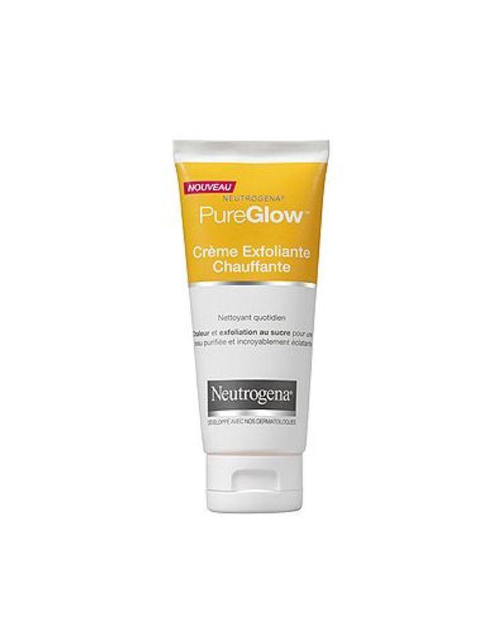 Crème exfoliante chauffante Pure Glow, Neutrogena - Les