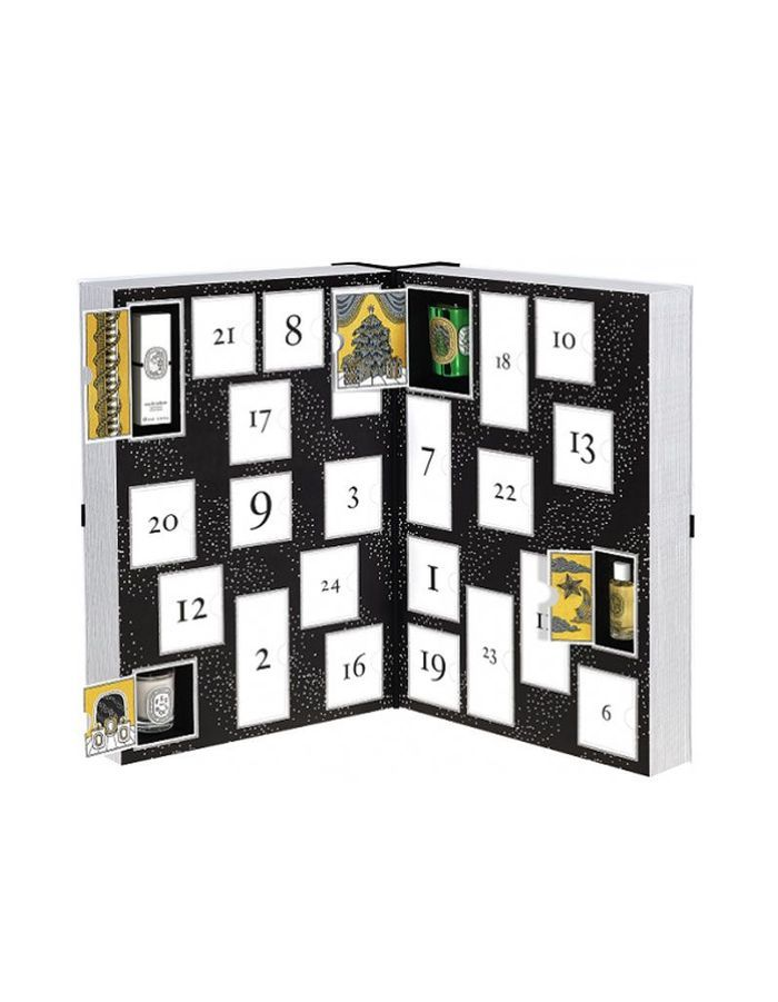 calendrier de l 39 avent beaut 2016 de diptyque 300 les calendriers de l avent beaut qui. Black Bedroom Furniture Sets. Home Design Ideas