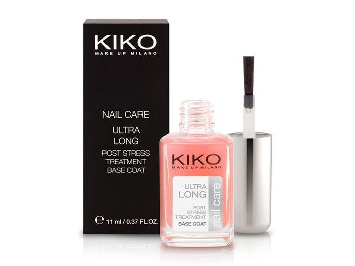 base de vernis ongles ultra long kiko ongles 10 soins pour une bonne nail rehab. Black Bedroom Furniture Sets. Home Design Ideas