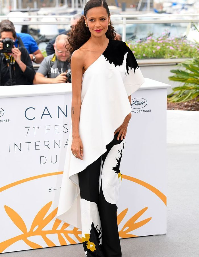 Thandie Newton au photocall
