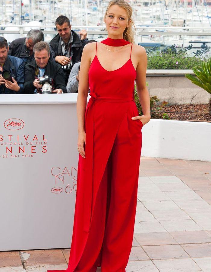 La Combinaison Rouge Cannes 2016 Les Plus Belles Robes
