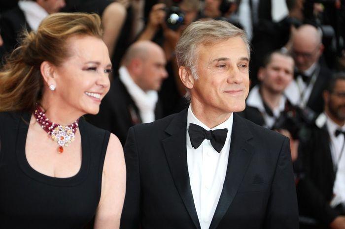 Caroline Scheufele et Christoph Waltz