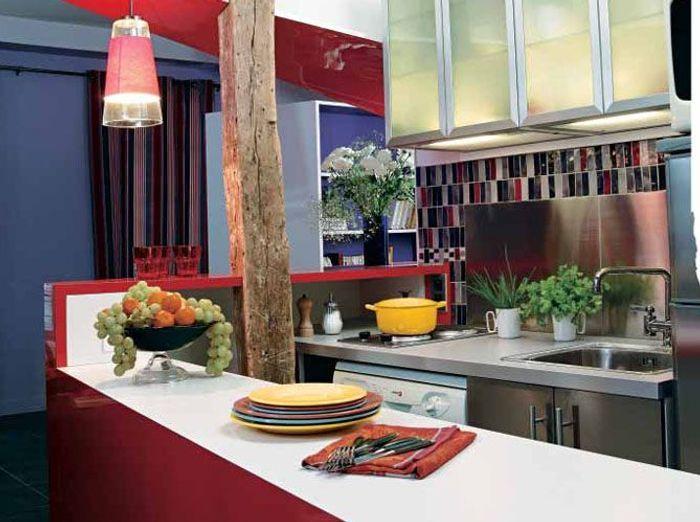 7 cuisines ouvertes bien intégrées - Elle Décoration
