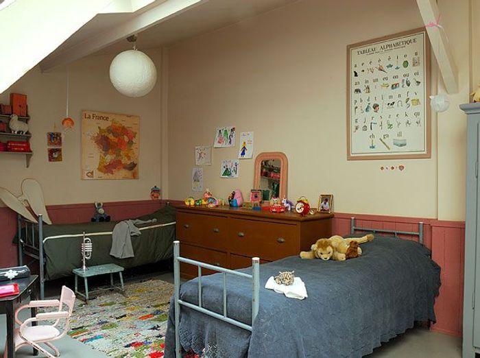 Chambre d 39 enfants un espace qui leur ressemble elle d coration - Chambre fille et garcon ensemble ...