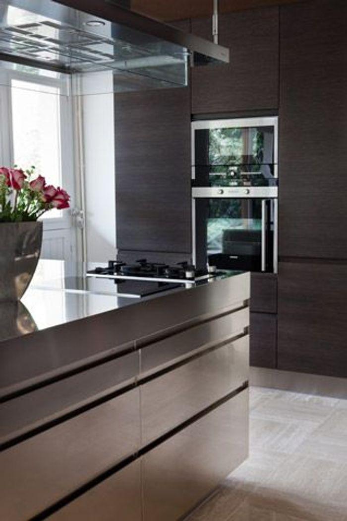 cuisine jouez la carte m tal elle d coration. Black Bedroom Furniture Sets. Home Design Ideas