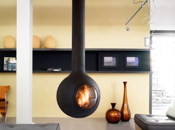 d co autour de la chemin e elle d coration. Black Bedroom Furniture Sets. Home Design Ideas