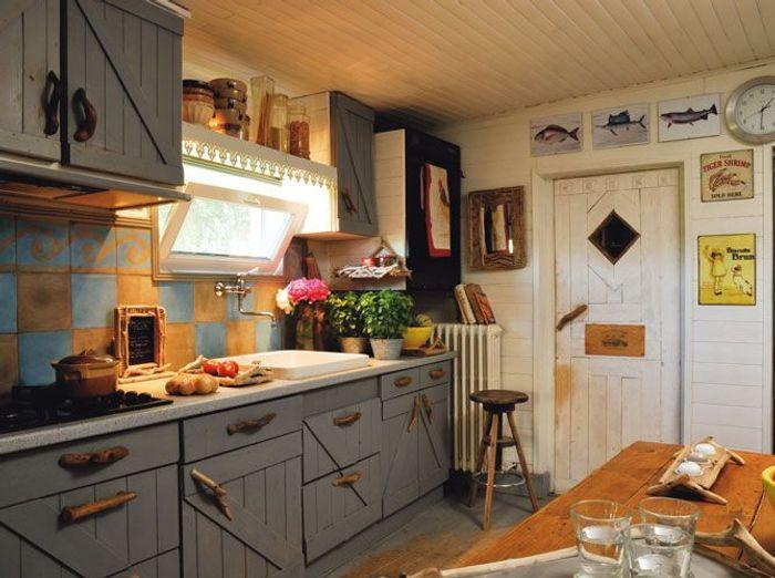 Des cuisines de campagne elle d coration for Art de cuisine de sihem