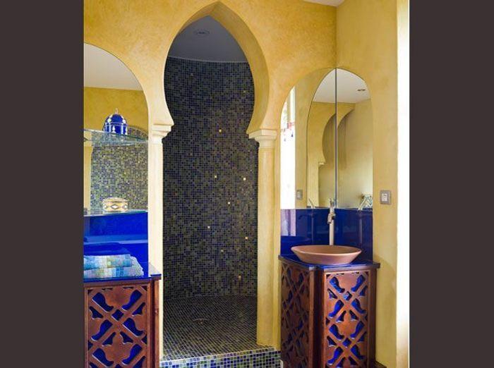 des salles de bains qui invitent au voyage elle d coration. Black Bedroom Furniture Sets. Home Design Ideas