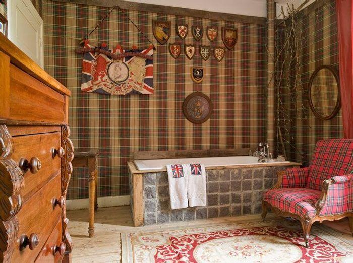 Des salles de bains qui invitent au voyage elle d coration for Meuble salle de bain smith