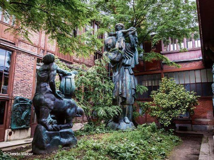 Entrez dans les réserves du musée Bourdelle