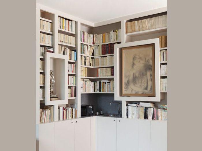 combien coute une bibliotheque sur mesure blog sur les. Black Bedroom Furniture Sets. Home Design Ideas