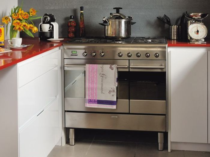 Fourneaux Modèles Faciles à Caser Elle Décoration - Cuisiniere gaz four multifonction pour idees de deco de cuisine