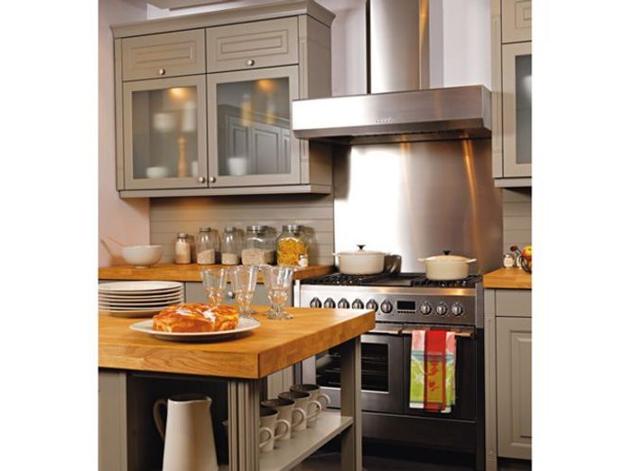 Fourneaux Modèles Faciles à Caser Elle Décoration - Cuisiniere gaz et four electrique 90 cm pour idees de deco de cuisine