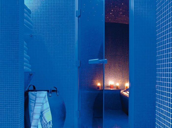 Hammam ou sauna elle d coration for Carrelage yaiza