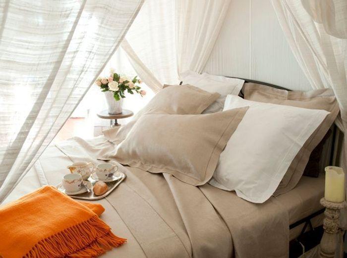 Linge de lit draps et couvertures reprennent du service for Draps de lit