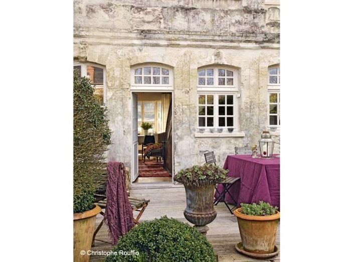Maison en normandie une d co chic et classique elle d coration - Site decoration maison ...