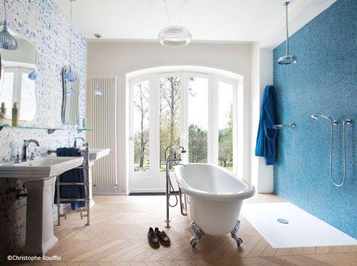 Tendance les salles de bains l 39 ancienne elle d coration for Art et decoration salle de bain