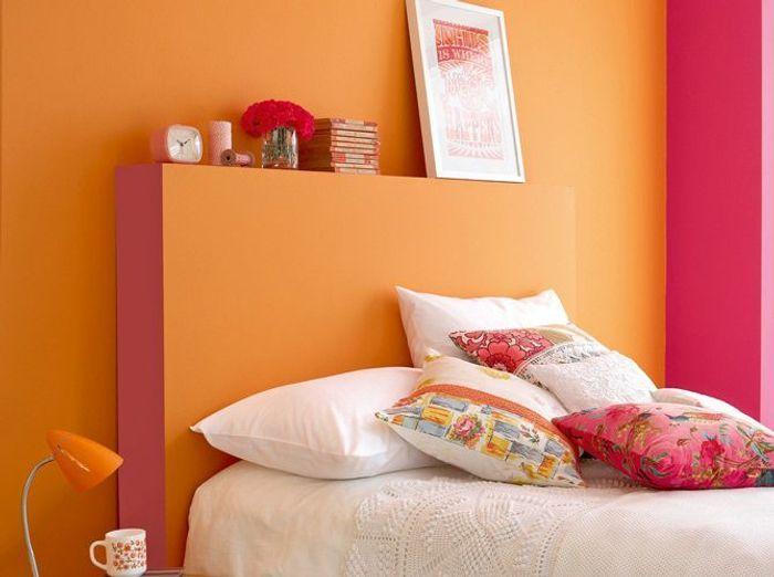 Peinture de la couleur sur les murs elle d coration for Peinture associer les couleurs